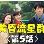 ドラマ『黄昏流星群』の第5話動画を無料視聴!デイリーモーションは観れる?